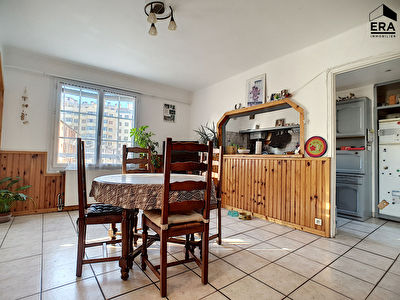 A VENDRE APPARTEMENT T6 92M2 RESIDENCE FERMEE PARKING MARSEILLE 13014 BON SECOURS